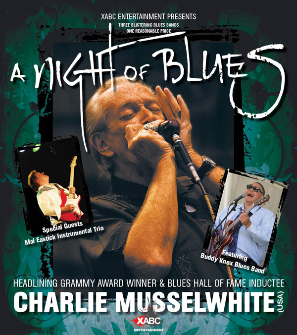 Charlie Musselwhite Free Double Pass Winners