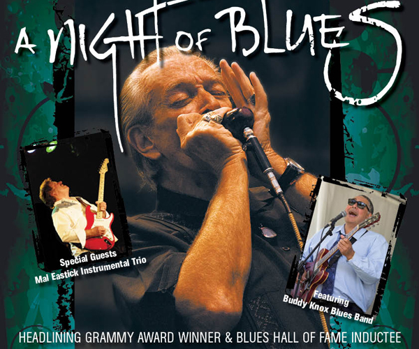 """Night of Blues"" No1 Headlining Charlie Musselwhite"